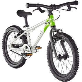 "Early Rider Belter Trail 16"" Fahrrad Kinder brushed aluminum/lime"
